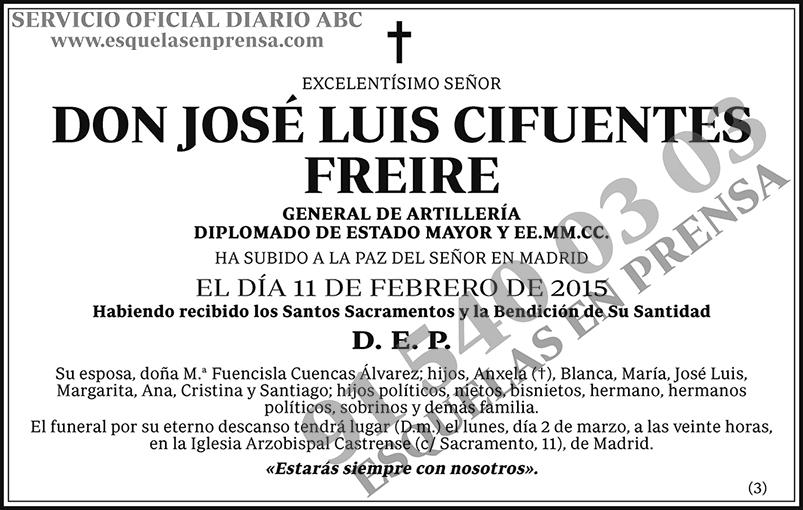 José Luis Cifuentes Freire